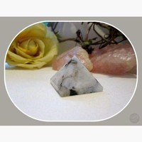 """The Feminine Stone"" Rainbow Moonstone  Pyramid"