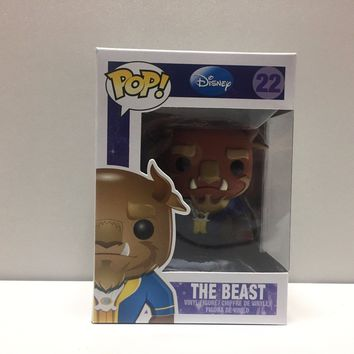 Funko Pop! The Beast #22 Vinyl Figure!! Disney!! Beauty and the Beast!!