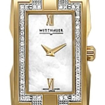 Wittnauer Beckett Collection Women's Diamond Bracelet Watch 12R040