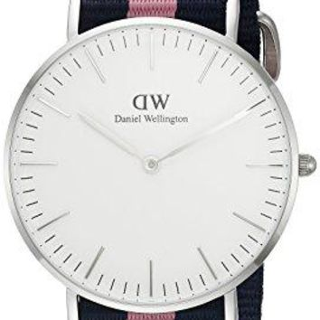 Daniel Wellington Women's 0604DW Classic Winchester Stainless Steel Watch with Striped Band