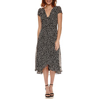 Danny & Nicole Short Sleeve Fit & Flare Dress - JCPenney