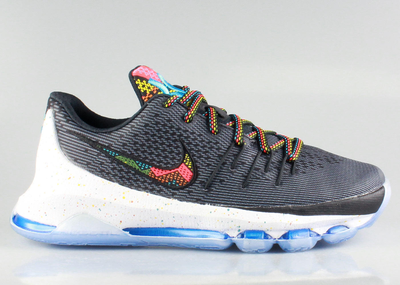 Nike Big Kid s KD 8 VIII GS BHM - Black from KickzStore 49b0ef40212b