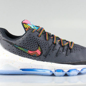 Nike Big Kid's KD 8 VIII GS BHM - Black History Month 2016