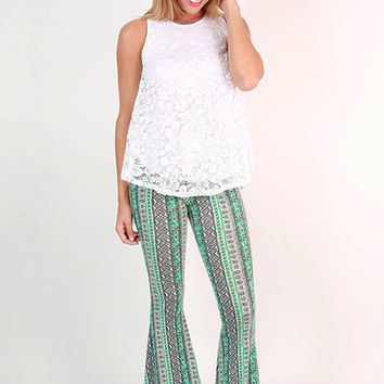 VIP Travels Flare Pants