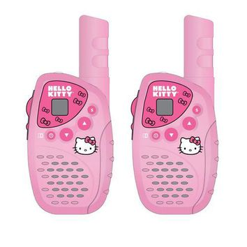 Hello Kitty Mini FRS 2 Piece Walkie Talkie Set