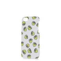 Lemon Print iPhone 5 Case - Topshop