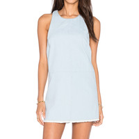 BEACH RIOT Poppy Dress in Faded Indigo