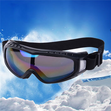 2016 Winter Windproof Glasses Skiing Eyewear Men Women Adult Snowing Eye Protection Anti Fog Goggles Glasses SA242 P18 NO