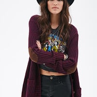 Chunky Knit V-Neck Cardigan
