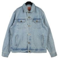 Denim jacket - Nation - Jackets - Jackets & Outerwear - Women - Modekungen | Clothing, Shoes and Accessories