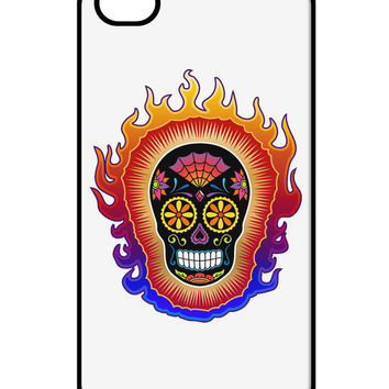 Sacred Calavera Day of the Dead Sugar Skull iPhone 4 / 4S Case