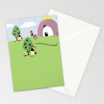 Off with Her Head! Stationery Cards by lalainelim