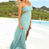 Ruffle Bandeau Maxi Dress - Victoria's Secret