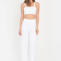 Pop Star Crop Top 'N Palazzo Pants Set GoJane.com
