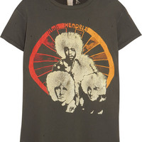 MadeWorn - Jimi Hendrix distressed printed cotton-jersey T-shirt