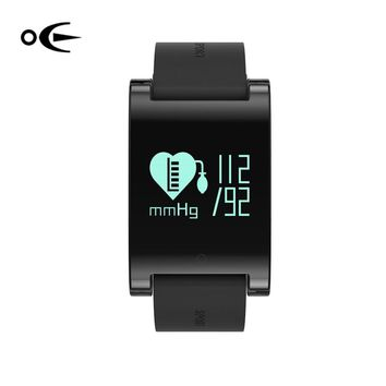 DM68 Heart Rate Smart Bracelet IP67 waterproof with Blood Pressure Monitor Pedometer for iOS 8.0 Android 4.3 or above