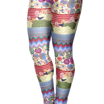 BadAssLeggings Women's Digital Art Leggings Medium Tall