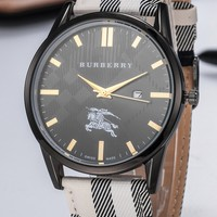Burberry tide brand personality wild men and women models quartz watch #3