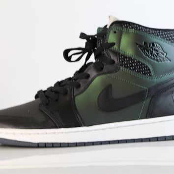BC KUYOU Nike Air Jordan Retro 1 High SB QS Craig Stecyk Green Black 653532-001