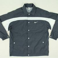 Nike Windbreaker Men Vintage Nike Windbreaker Vintage Nike Jacket Button Down