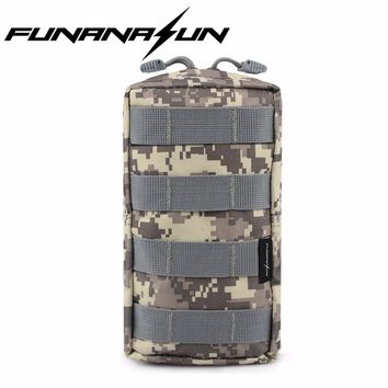 Molle EDC Utility Pouch Gadget Gear Bag Ammo Vest Waist Accessories Tactical Outdoor Hunting Tools