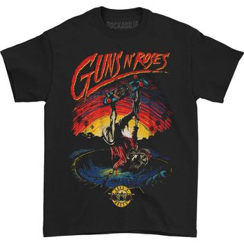 Guns N Roses Men's  Skate Tee T-shirt Black