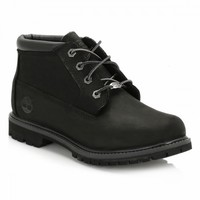 Timberland Womens Black Nellie Double Waterproof Chukka Boots