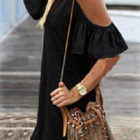 Summer in the City Dress - Black