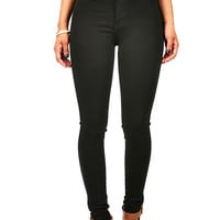 Carbon High Waist Skinnys | Jeans at Pink Ice