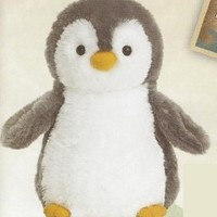 Aurora World Destination Nation Gray Penguin Plush, 12""