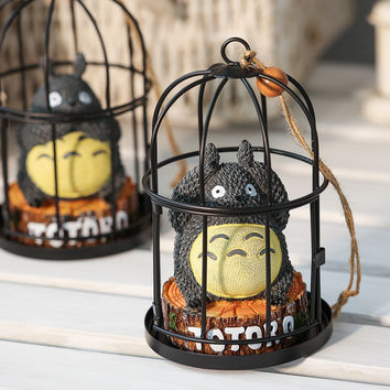 Cats Cage Decoration Creative Gifts Resin Home Decor [6282167878]