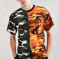 Spliced Rothco Camo Tee - Urban Outfitters