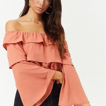 Tiered Flounce Top