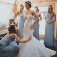 Plus Size Wedding Dresses 2016 Sexy Sleeveless Sweetheart Backless Mermaid Chapel Train Bridal Gown Elegant