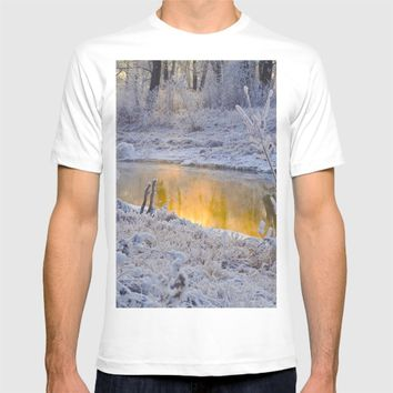 It's Gold Outside T-shirt by Mixed Imagery