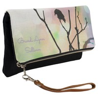The Lonely Crow *Personalize* Fold Over Clutch