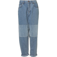 Velvet Patch Jeans By Boutique