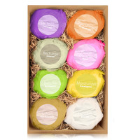 Keeva 8 Bath Bombs Gift Set; Infused With Over 21 Essential Oils & Natural Ingredients. 100 Day Money Back Guarantee