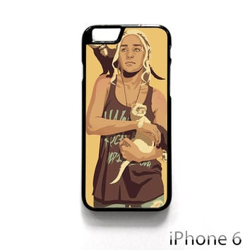 game of thrones 90s era characters daenerys targaryen for Iphone 4/4S Iphone 5/5S/5C Iphone 6/6S/6S Plus/6 Plus Phone case
