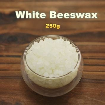 Natural white beeswax lip balm 250g domestic