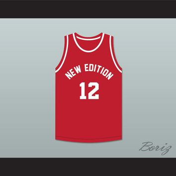 Ricky Bell 12 New Edition Red Basketball Jersey