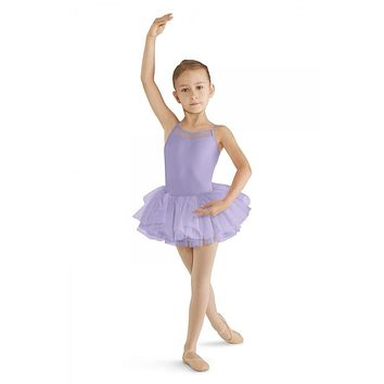 Bloch Girl's Mesh Cami Tutu Leotard