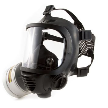 Elite Gas Mask For Nuclear , Biological & Chemical Warfare CBRN Protection Military Grade US Survival Full Face Mask For Kids Adults, Comfortable Robust Design
