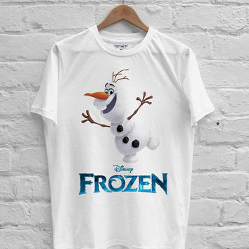 Olaf Frozen T-shirt Men, Women Youth and Toddler
