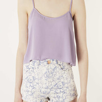 Crop Strappy Cami - Tops - Clothing - Topshop