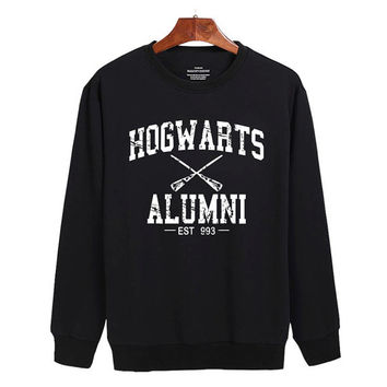 Harry Potter Hogwarts Alumni Sweater sweatshirt unisex adults size S-2XL