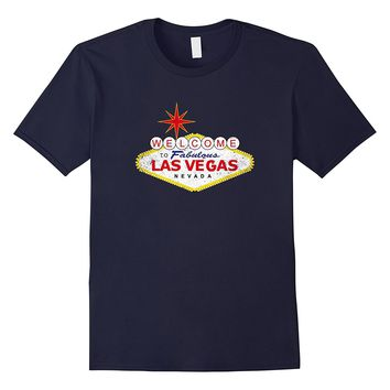 Welcome to Las Vegas Nevada Vintage Sign Souvenir T-Shirt