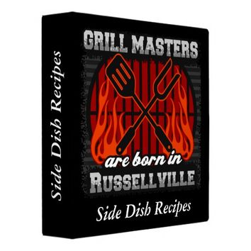 Grill Masters Are Born In Russellville Personalize Binder