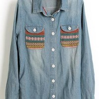 Vintage Long Sleeve Denim S001828