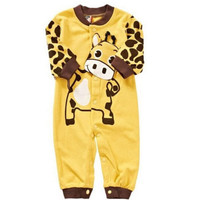 NEW Cow Newborn Girls Boys Cotton Clothes Baby Infant
